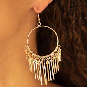 SOL Food Gold Earrings